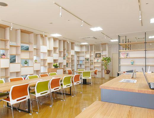 松本ヘルス・ラボのオフィス